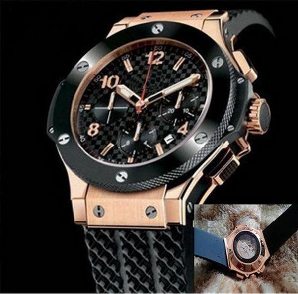 Высокое качество 14 стилей новые мужские высокие часы A2813 Big Bang Automatic Movement Men F1 Watch ме фото