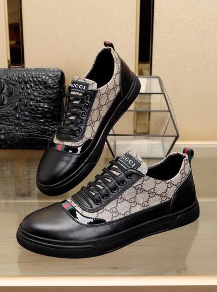 (С коробкой) модельер Brand New мужская мода обувь Повседневная обувь , популярные муж