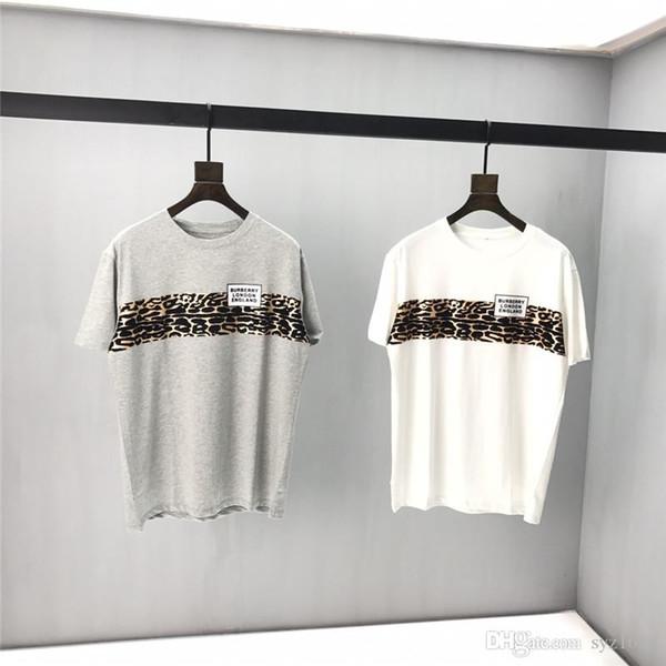 Бесплатная доставка 2020high качество Женская футболка летняя пара одежда Письмо печати топ футболка повседневная хлопок с коротким рукавом футболка ЕС размер S-XXL91 фото