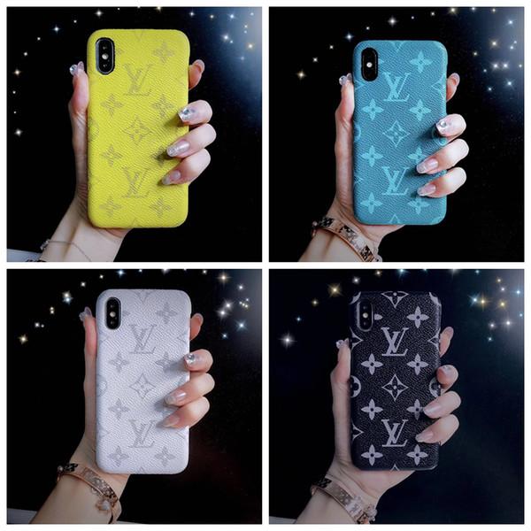 Luxury cover for iphone 6 6  6  plu  x xr x  max 7 7plu  8 8plu  phone ca e real letter de igner phone cover a02