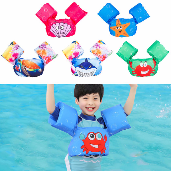 puddle jumper baby kids arm ring life vest floats foam safety jacket pool water life jacket children swimsuit swimming ring