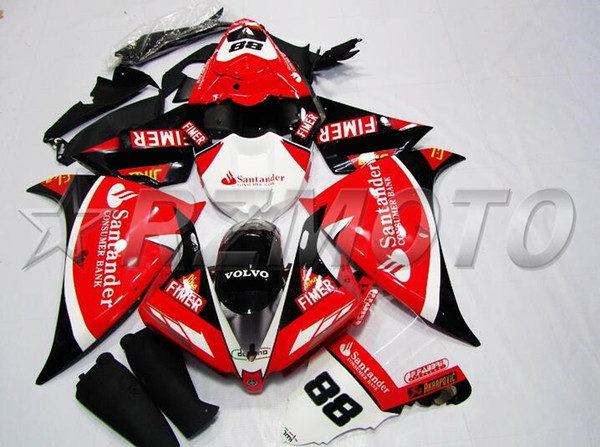 3gift  new injection fairing kit fit for yamaha yzf r1 13 14 yzf r1 2013 2014 yzf1000 motorcycle ab  fairing   et cu tom red