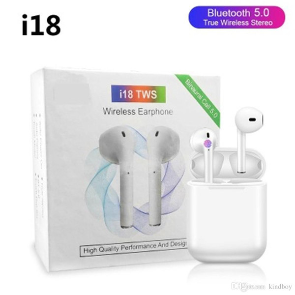 I18 tw  bluetooth 5 0 earphone  earbud  wirele   head et  3d  ound touch control for iphone xiaomi huawei pk i10 i12 i13 i14 tw