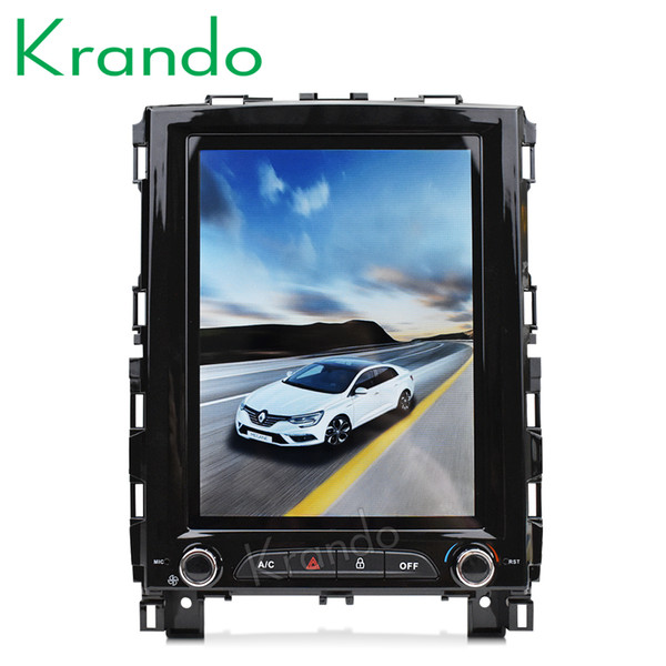 Krando android 7 1 10 4 quot te la vertical creen car dvd audio for renault koleo 2016 megane 4 2017 gp navigation player y tem
