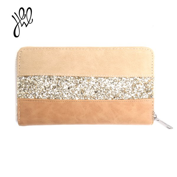 2019 women leather wallet long casual lady purses fashion brand clutch wallet passport coin card holders wallets wholesale price (483587163) photo