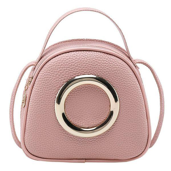 2019 fashion women bag pu leather messenger shoulder crossbody bag satchel purse pretty evening handbag (487364357) photo