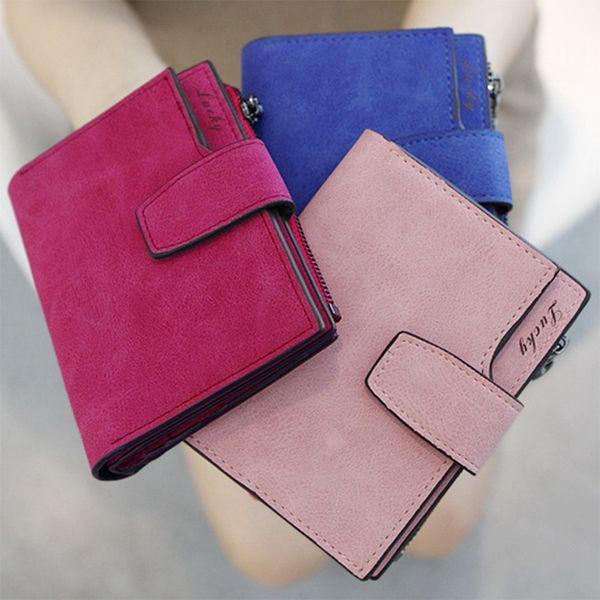 clutch wallet leather case long zip button card purse handbag female zipper clutch coin ladies purse (494021362) photo