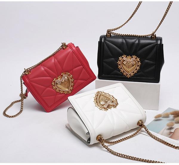 Free postage, women's bag new designer brand handbag high-end quality leather portable diagonal shoulder bag