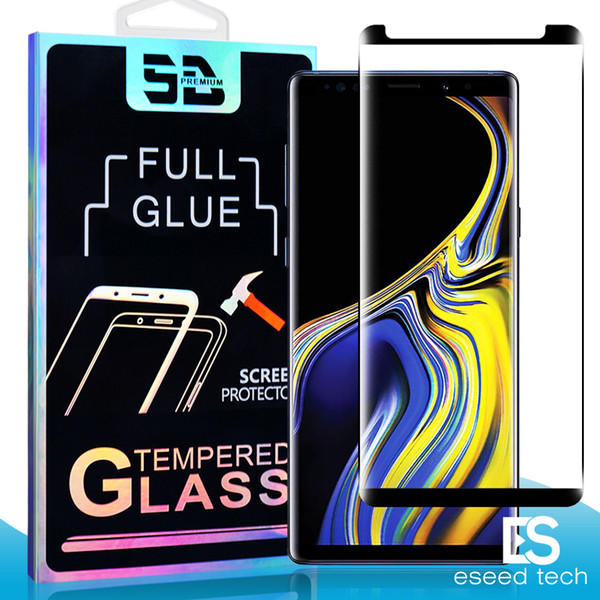 3d full glue coverage fingerprint unclock ca e friendly tempered gla   for  am ung note 10  10  9  8 plu   7  6 edge curve  creen protector