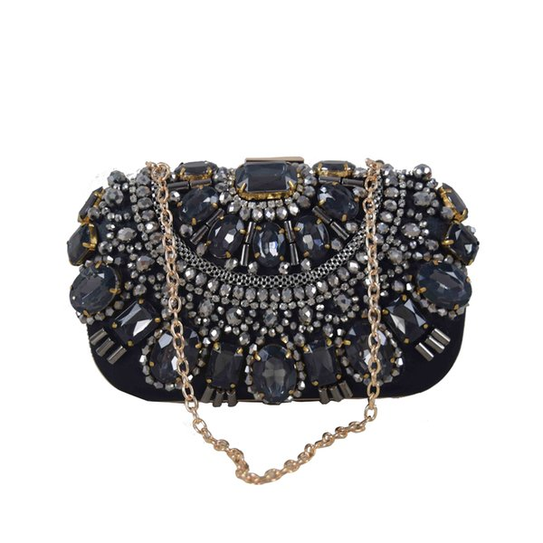 china supplier latest stone women clutch purses (531047379) photo