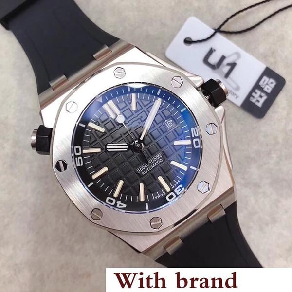 Sale limited royal oak off hore diver automatic mechanical movement watche tainle teel black watch 15703 men wri twatch