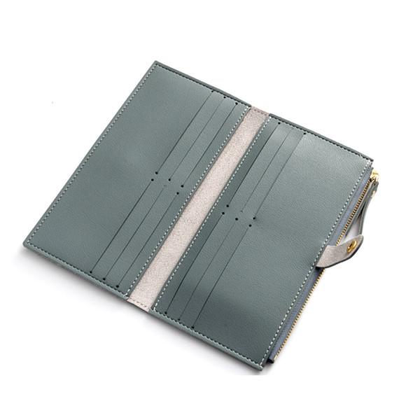 women long purse pu leather coin pouch zipper card holder billfold casual wallet ka-best (466237530) photo