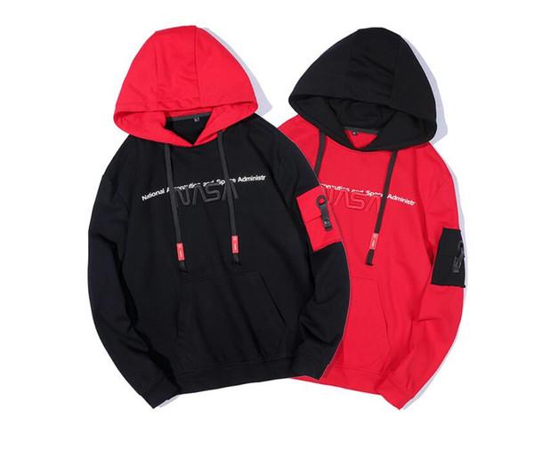 19ss пуловер толстовка с длинным рукавом толстовка перемычка осень зима толстовки