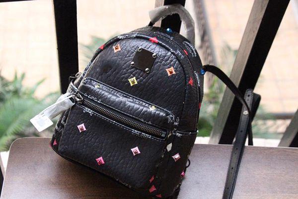 designer -backpacks mom purse bag women luxury designer bags m purse bag fashion rivet luxury purse bag (506174768) photo