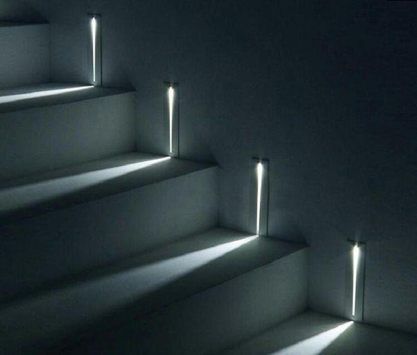 Стены в помещении LED Встраиваемый 3W LED лестничные Light Прямоугольник AC100-240V Бра осве фото