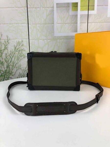 designer luxury handbag purse soft trunck 2020 new style man single shoulder box style purse bag (537787118) photo