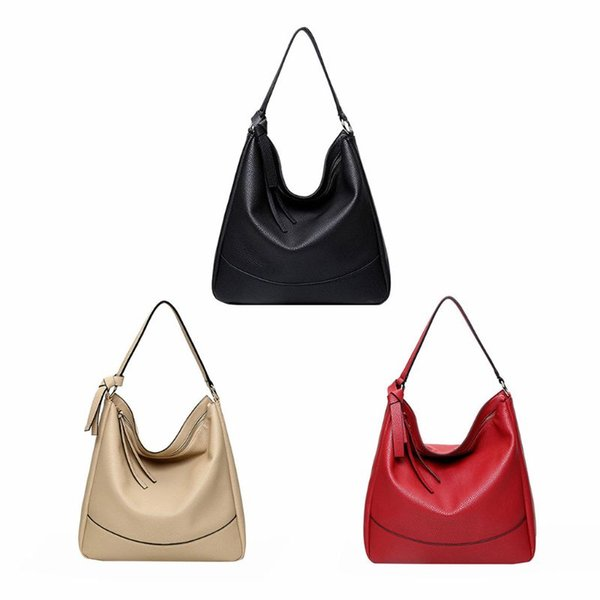 fashion vintage handbag lady shoulder bag tote purse pu leather women multifunction casual messenger hobo tote purse bags new (461600761) photo