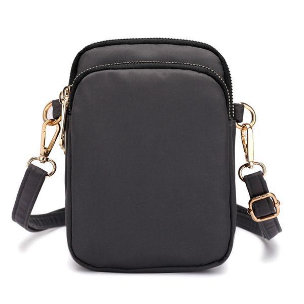 women mini cross-body cell phone shoulder bag pouch case handbag purse waterproof nylon zj55 (534041375) photo