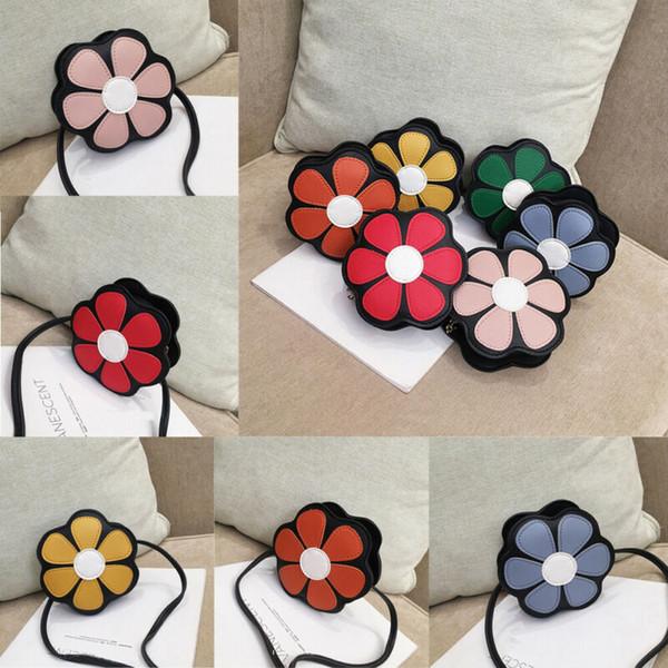 new fashion cute toddler kids girls flower shoulder purse tote purse crossbody bags (524861176) photo