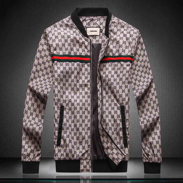 Fashion Designer Men's Jacket Windbreaker Long Sleeve Mens Jackets Hoodie Clothing Zipper With Letter Pattern Plus Size Clothes M-4XL