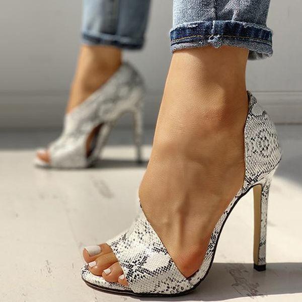 2020 новые дамы сексуальный высоких каблуках сандалии летом бестселлер моды обнаженной на высоких каблуках вытекающей ног фото