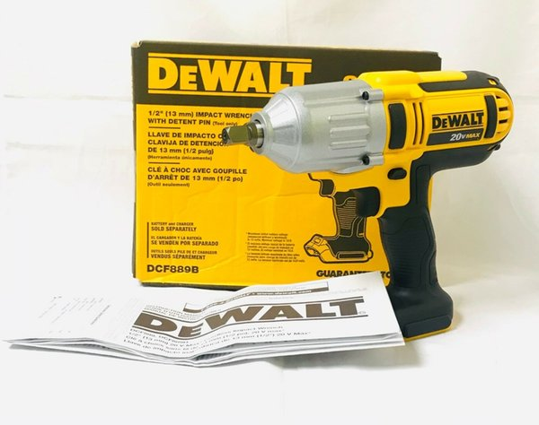 "DeWalt  DCF887B 20V MAX XR BRUSHLESS 1//4/"" 3 SPEED IMPACT Driver 2019 Date Code"