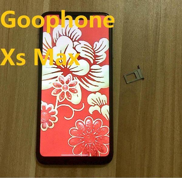 Goophone x  max 6 5 inch android 7 0 quad core 1gb ram 8gb rom mtk6580 3g wcdma  martphone