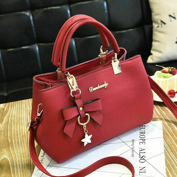 women crossbody leather shoulder bag ladiestote purse messenger satchel handbag shoulder bags tote purse hobo bag (536361277) photo