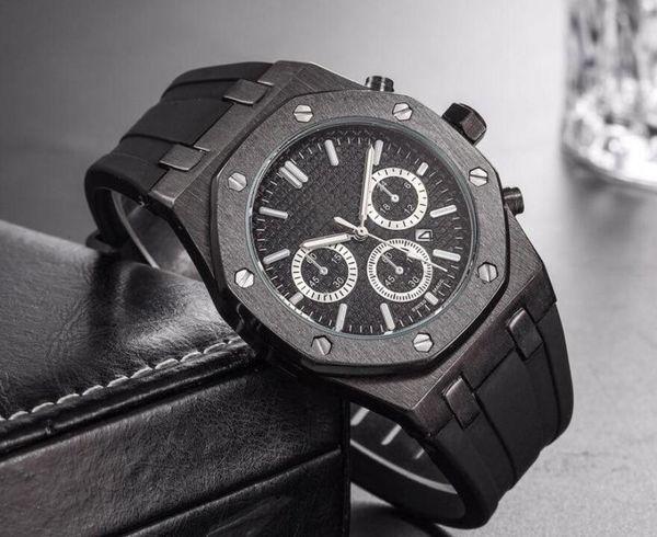 Топ Марка большой размер часы мужчины роскошь дизайнер автоматический календарь фото