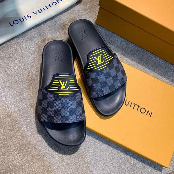 дизайнерская обувь для мужчин новый 2019 принт натуральная кожа сандалии мода повс