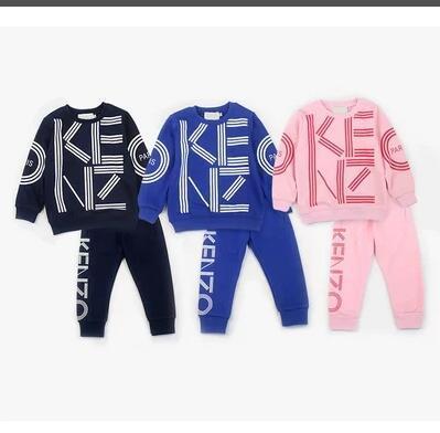 2019 Children Tracksuit Kids Clothing Hoodies Set Children Sport suit costumes Boys Girls Sweatshirt Pants Fleece pant 2pc Set Spring