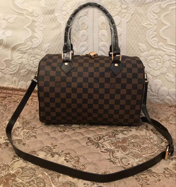 luxury handbags purse women bag leather handbags shoulder bag speedy 30cm crossbody bags for women messenger bags purses (525624571) photo
