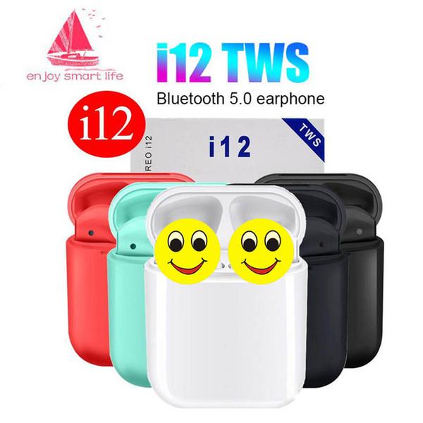 Original i12 tw  air wirele   pod  bluetooth head et true wirele    port earphone headphone for iphone x 8 7 pk i7  i9  i10