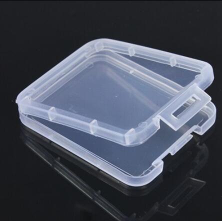 Защита Case Card Контейнер карты памяти CF Boxs карты Инструмент Пластиковый прозрачный