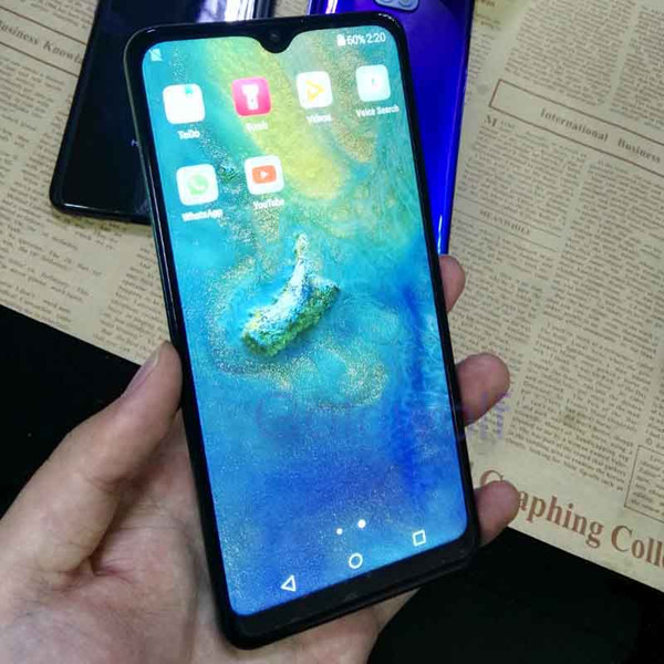 Unlocked goophone mate20 pro cell phone 6 2 quot  1gb ram 4gb rom  how 6gb 128gb  how fake 4g cell phone