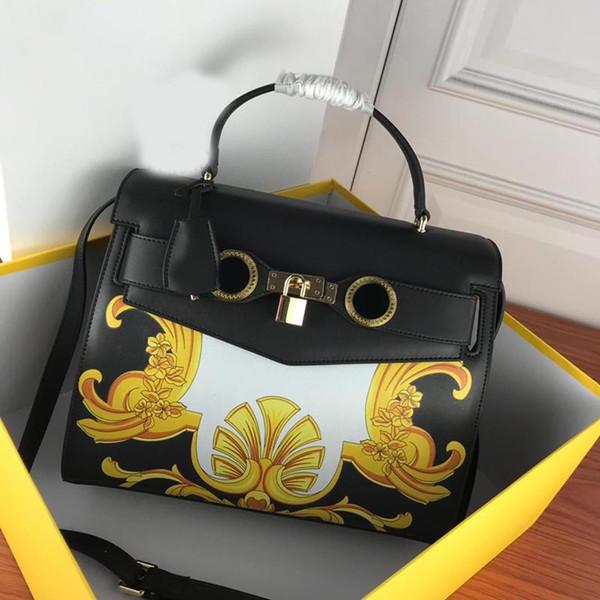 fashion totes women handbag purse genuine leather medusa head ladies purse handbag varsc real leather classical handbag (488901581) photo