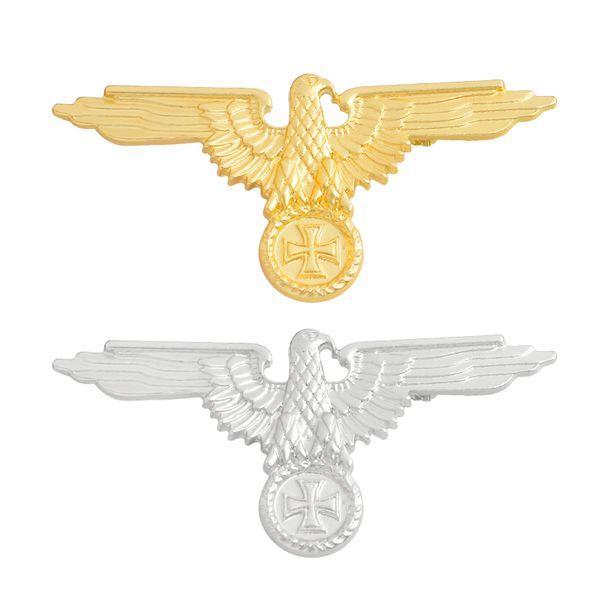Мисс Зои Второй мировой войны немецкий военный крест Орел колпачок значок pin золо фото