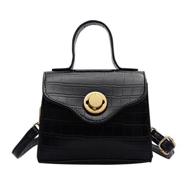 retro alligator leather pattern hobo bags pu leather women handbags flap shoulder messenger pursecrossbody purse (538783550) photo