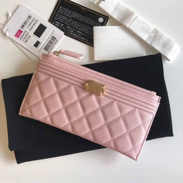 2019 luxury women's card purse, designer woman's purse, women's purse, style purse,size:19*10.5cm (438031574) photo