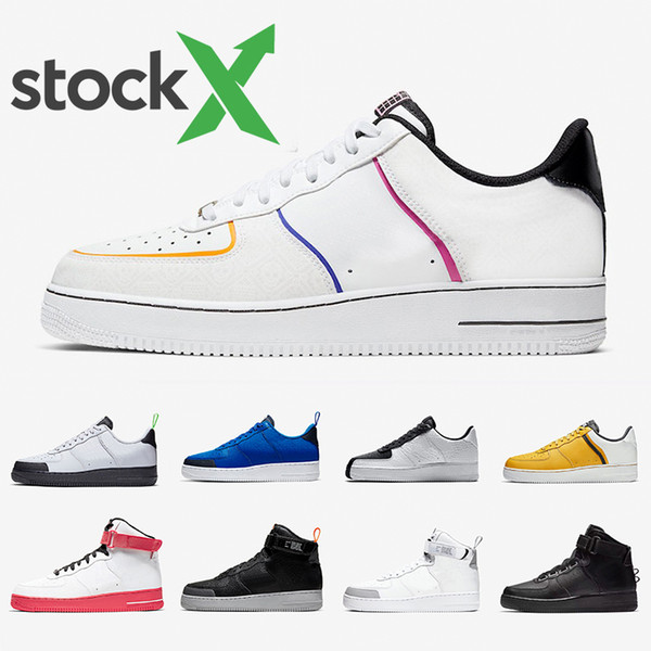 NIKE Air Force 1 Air Forces one Jester-XX-Low-Pack Mens Running Shoes Green Abyss NYC Earth Day What The 90s Sports Sneakers for man and women chauss фото