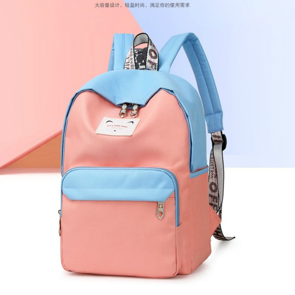 novo estilo casual backpack nylon schoolbag backpack purse (528857191) photo