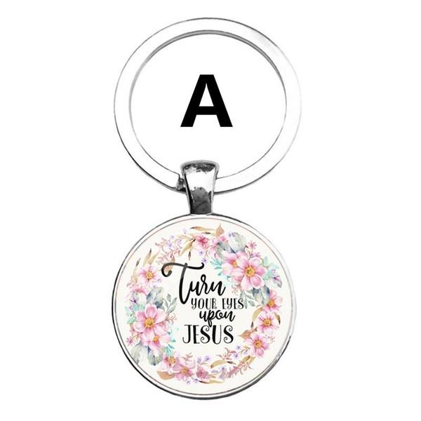 2019 fa hion bible ver e key chain gla dome pendant key chain cripture quote jewelry chri tian faith in pirational gift