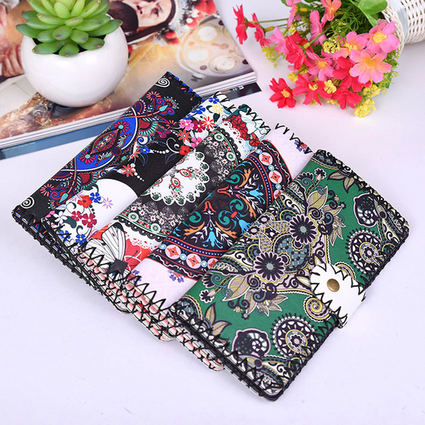 fashion handmade national style pattern women long standard wallet purse pretty style girls lovely clutch wallets# (484805525) photo
