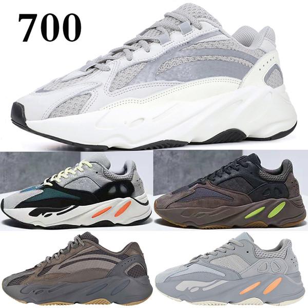 Adidas yeezy 700 shoes 2019 Горячий 700 лиловый Inertia кроссовки мужские дизайнер волны бегун 700 Ka