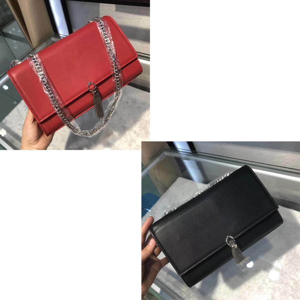 Дизайнерская сумка через плечо классическая марка сумка 2019 модная женская кожаная сумка с бахромой Дизайнерская сумка