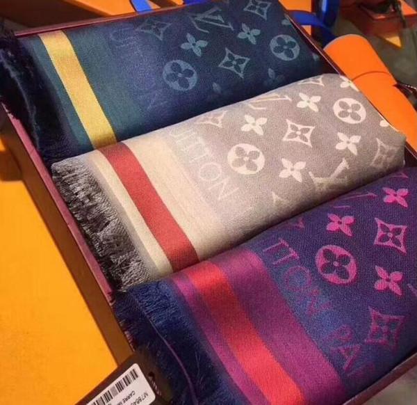 Wool ilk carf pa hmina fa hion flower pattern women men ca hmere ilk carve carf wrap high qualtiy ize140x140cm gift