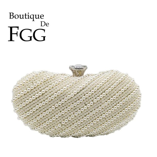 boutique de fgg elegant women beaded evening clutch bags bridal wedding party dinner purses and handbags (522287393) photo