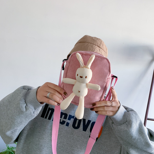 women bag soft girl doll messenger bag bags for women 2019 purses messenger bags embroidery (505463409) photo