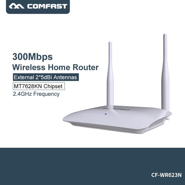 ad alta velocità copertura 300mbps wireless ap dual antenna router domestico wireless router usa comfast wr623n (510363127) photo