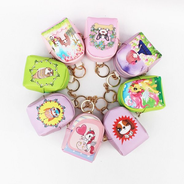 purse cute cartoon small backpack mini coin purse new style key (530435102) photo